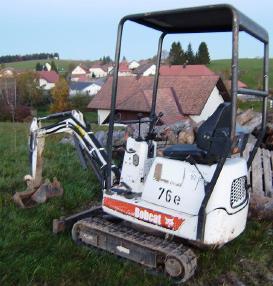 Mobile excavator - Bobcat 316 EA