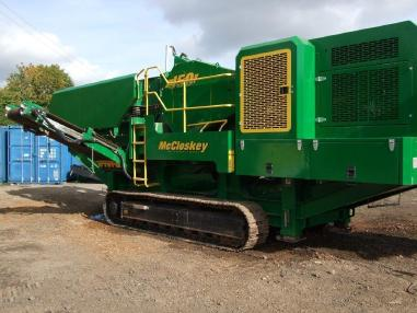 mobile Brecheranlage - Mc Closkey J50