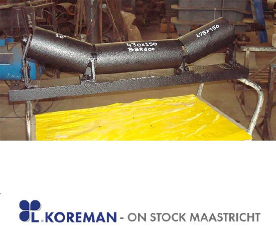 Idlers with rolls (HD) for Belt 800 mm