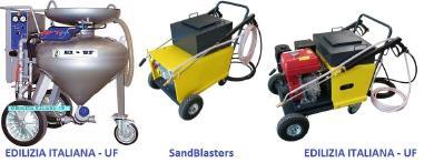 Granallado - EDILIZIA ITALIANA-UF Sandblaster - Idrosabbiatrice - Zandstraler