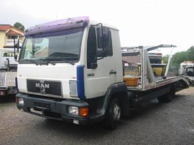 Odtahové vozidlo - MAN 8.163 Doppelstock KFZ-TRANSPORTER