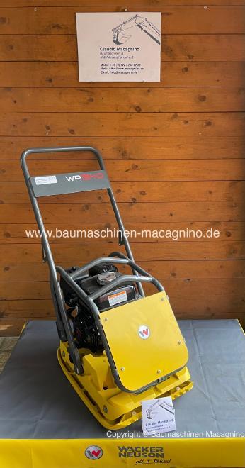 Wacker Neuson WP 1540 A Rüttelplatte NEU