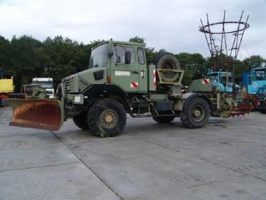 Koparka linowa - Renault Thomas 1700 trencher