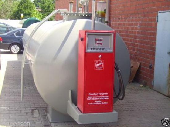 Dieseltankstelle 16.000 Liter doppelwandig gebraucht