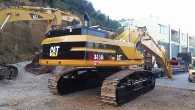 Rupsgraafmachine - Caterpillar 345BL