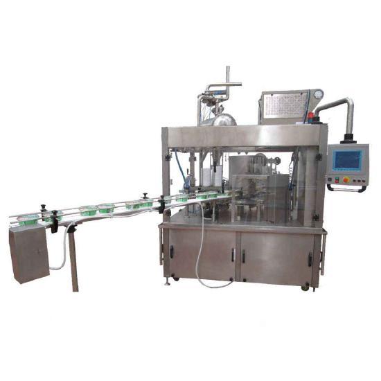 MVS Machinery Yogurt Filling and Sealing Machine