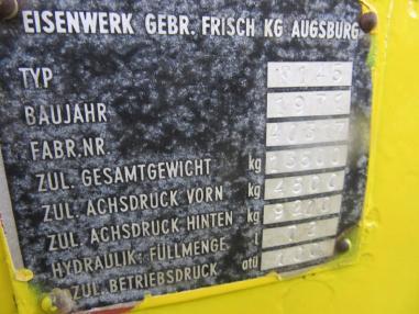 Livellatrice - Faun-Frisch Frisch F 145