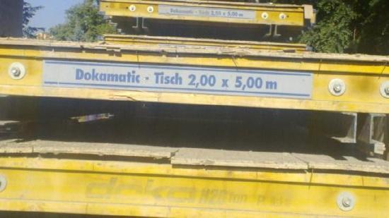 Doka Dokamatic Tische