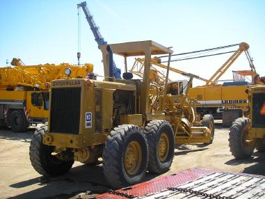 Grader - Caterpillar CAT 12G _ 1980
