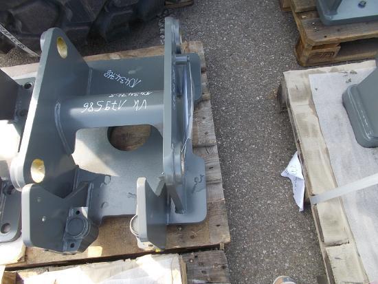 Liebherr Adapterplatte 33 LF-Vorbereitung mit Bohrbild 94000280