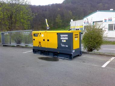 Elektrik üreteci - Atlas Copco QAS 150 VDS