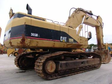 Tracked excavator - Caterpillar 365 BLME