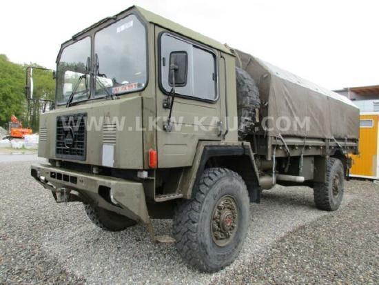 MAN Saurer 6 DM Winde Army Militär