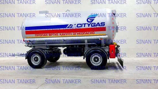 Sinan LPG Tanker Trailer