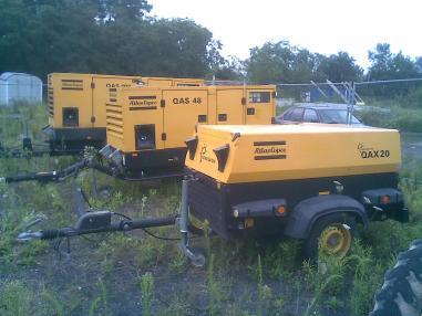 Generator de curent - Atlas Copco 100 + 45 + 20 kva