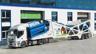 instalaţie de malaxare a betonului mobilă - Elkon Mobile Concrete Plants