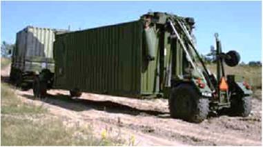 Výměnný podvozek - Ostatní CLT Container Loading Trailer