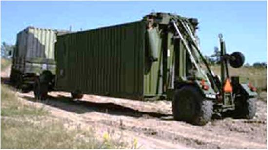 CLT Container Loading Trailer