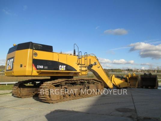 Tracked excavator - Caterpillar 374D