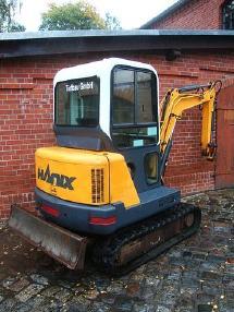 Mini ekskavatör - Hanix Minibagger H24 A