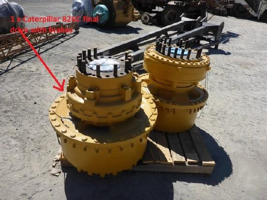 Caterpillar 826C final drive with brakes