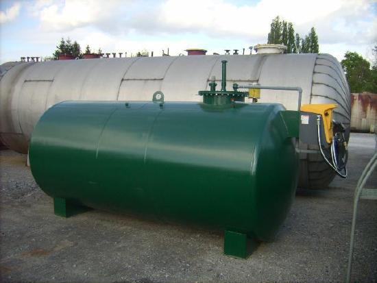 Tankanlage Tankstelle Betriebstankstelle Tank