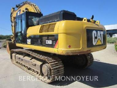 Tracked excavator - Caterpillar 336D