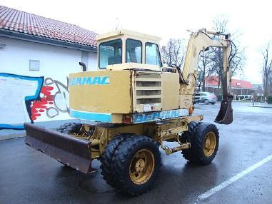 Koparka mobilna - Benmac 308R Mobilbagger excavator 8,5t Hammerhyd