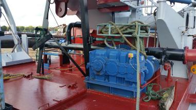 Imuruoppaaja - Saugbagger Hopper-Saugbaggerschiff sandpump 14 -inch