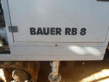 Машина за ядково сондиране - Bauer R B 8