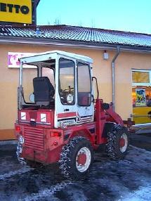 Cargadora de ruedas - Gehl Radlader Allrad KL 405 wheelloader Palettengabel