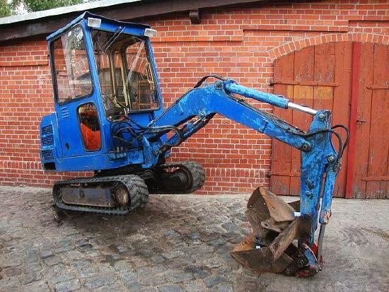 Pel Job EB 16 Minibagger excavator 3 Schaufeln Hammerhyd