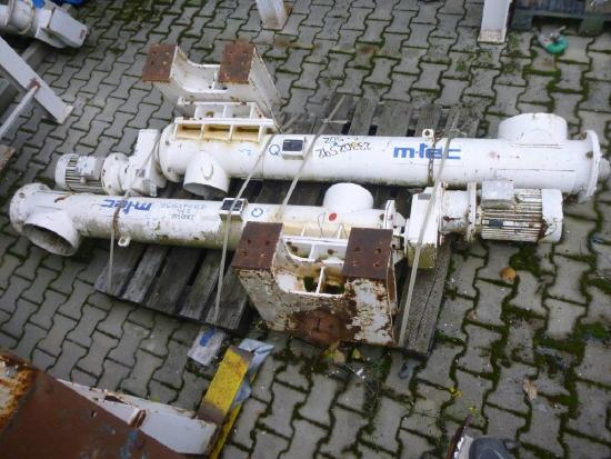 M-Tec DSD-M 200x1471 Rohrförderschnecke DSD-M 200 x 1471