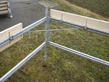 Mobile excavator - Maier Schnellbauschnurgerüst (verzinkt)