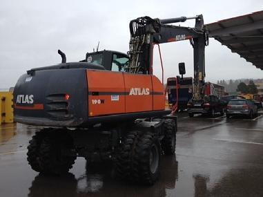 Mobile excavator - Terex TW190