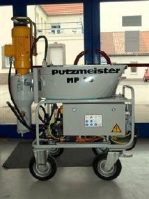 putzmeister mp 25 plastering machine used de nucj 2801 dj. Black Bedroom Furniture Sets. Home Design Ideas