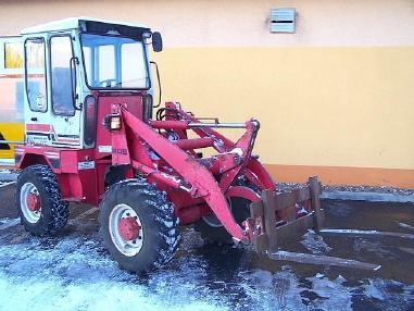 Wiellader - Gehl Radlader Allrad KL 405 wheelloader Palettengabel