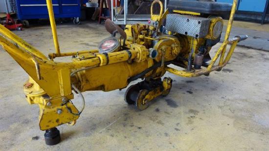 Stumec TPAS 200 Gleisschrauber Schienenschrauber