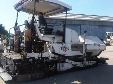 Pavimentadora de asfalto de cadenas - Dynapac *** F141C  /  Tracked Paver ***
