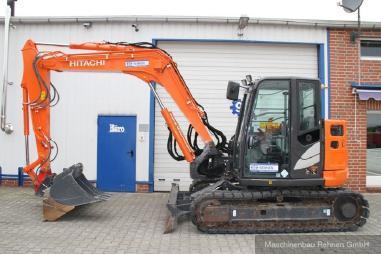 Mini excavator - Hitachi ZX 85 USB-5 + Lehnh. SW + Schild