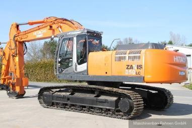 Excavadora de cadenas - Hitachi ZX 350 LCN-3 + OilQuick OQ80 SW + ZSA