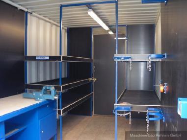 其它 - 其它 Werkstattcontainer / Baustellencontainer mit Top