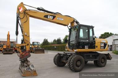Mobiele graafmachine - Caterpillar M 315 D + Lehnhoff SW - 20 km/h - 15.900 kg