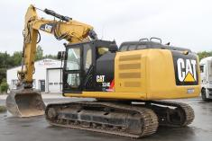 Caterpillar 324 E + Verstellausleger