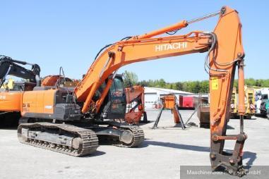 Excavator cu lanţ - Hitachi ZX 210 LC-5B + SW + kompl. Hydraulik