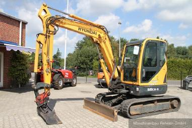 mini bager - Hyundai R 60 CR-9 + MS03 SW + Schild