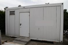 Sanitärcontainer - WC Dusche - 5 x 2,4 x 2,7
