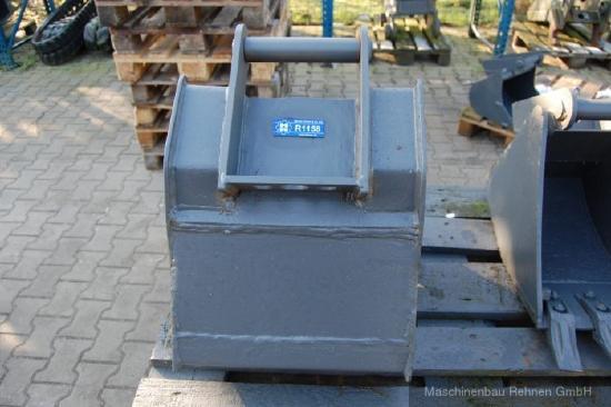 Tieflöffel - MS01 - Zähne - 400mm - R1158