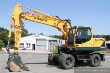 Mobile excavator - Hyundai R 180 W-9A + Klima + Kamera