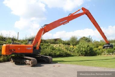 Tracked excavator - Hitachi ZX 250 LC-5B Long Reach + Erdbauausleger